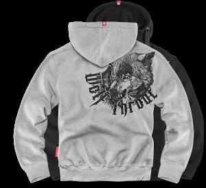 """Mikina """"Wolf Throat"""""""